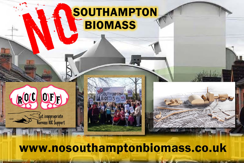 No Southampton Biomass, Community Action Campaign